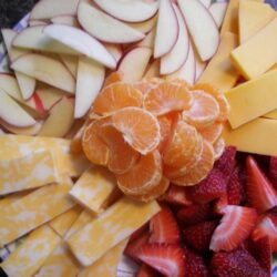 Healthy Fruit and Cheese