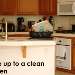 Clean the Kitchen Before You Go to Bed to Save Time