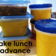 Make Lunch in Advance to Save Time