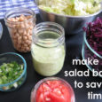 Make a salad bar to save time