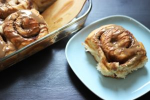 Maple Brown Sugar Cinnamon Rolls