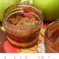Mini Apple Pies in Jelly Jars