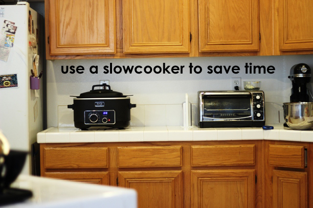 Slow Cooking Saves Time