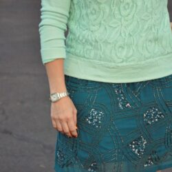 Teal and Mint