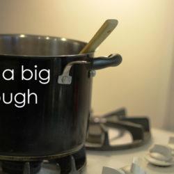Use a big enough pot Life as MOM