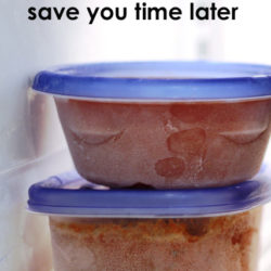 Freezer Cooking Will Save You Time