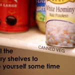 Label the Pantry Shelves to Save Time