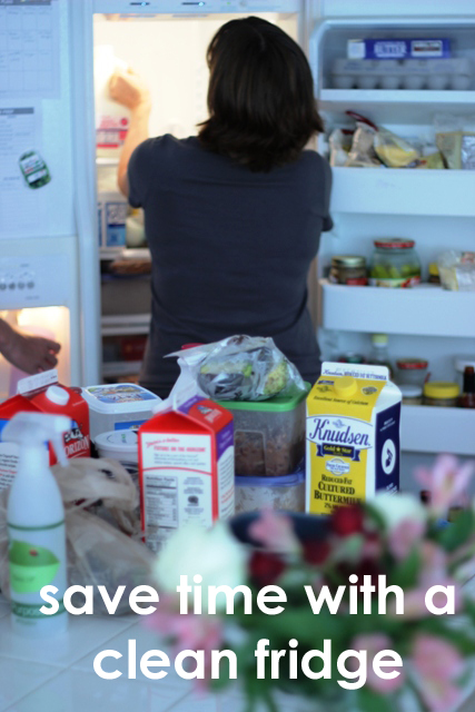 Save Time with a Clean Fridge | Life as MOM