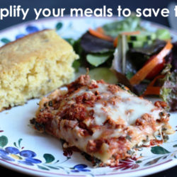 Simplify Your Meals to Save Time in the Kitchen