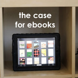 the case for ebooks
