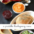 A Printable Thanksgiving Menu Life as MOM