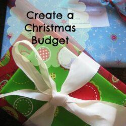 Make a Christmas Budget