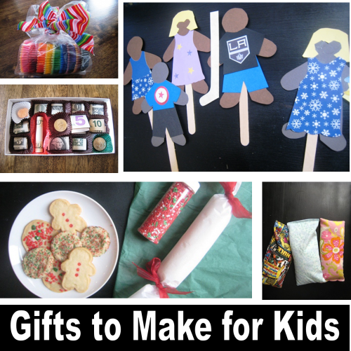 10 Gifts You Can Make for Kids | Life as MOM - Check out these fun gifts you can make your self. Crafting skill not required.
