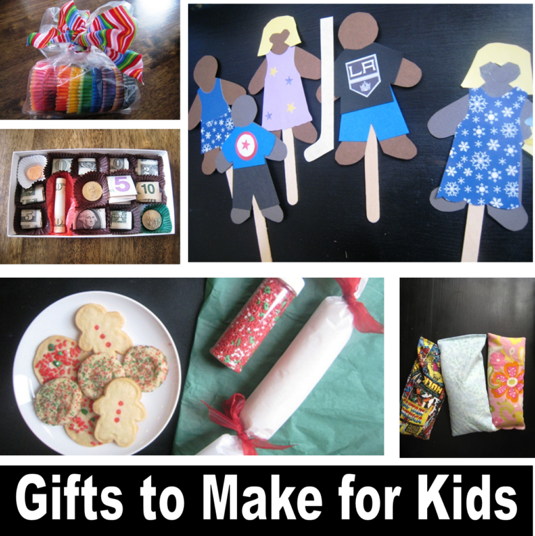 10 Gifts You Can Make for Kids