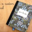 How to Make a Custom Journal | Life as MOM