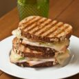 Turkey Apple Panini with Fig and Gruyere | Life as MOM