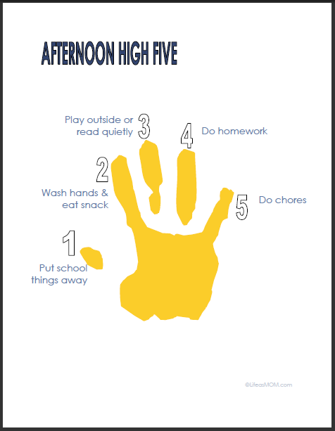 The Afternoon High Five
