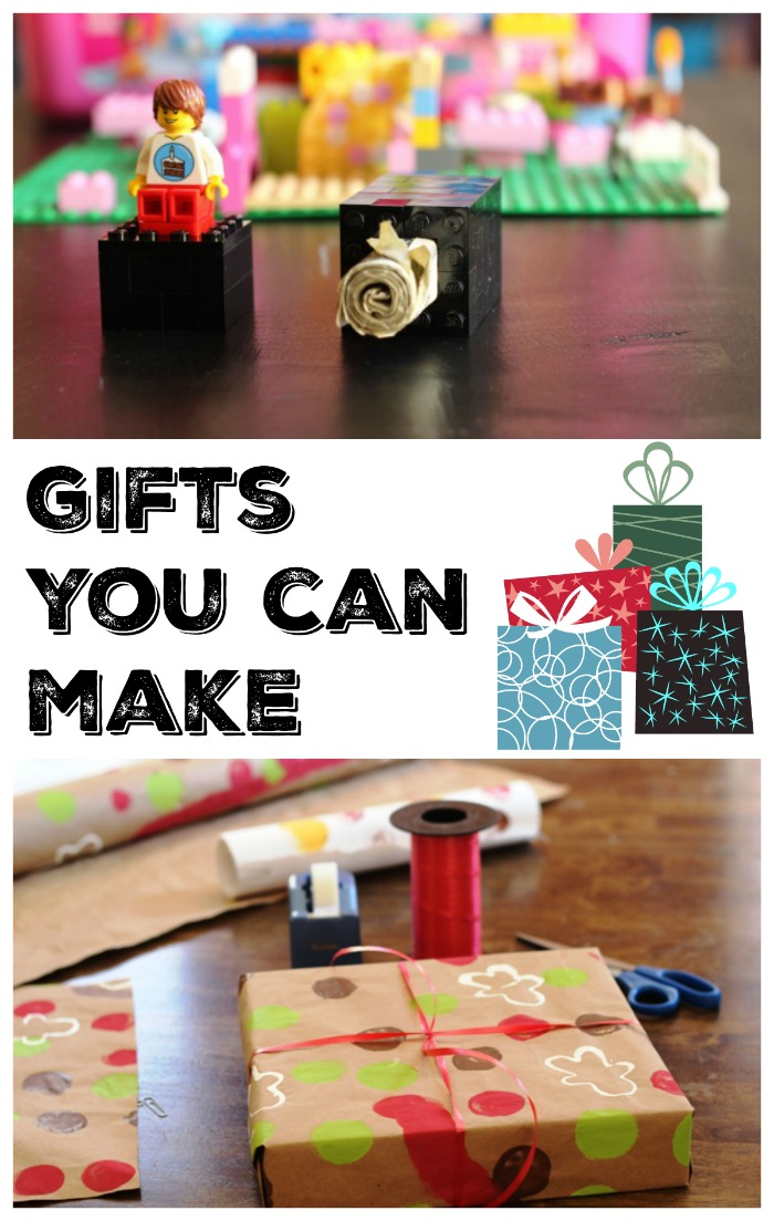 Great Gifts You Can Make | Life as Mom - Make a gift for the folks you love. It's not hard and can be so heartfelt. Not to mention economical.