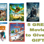 Great Movies to Give as Gifts | family movie reviews | gift ideas