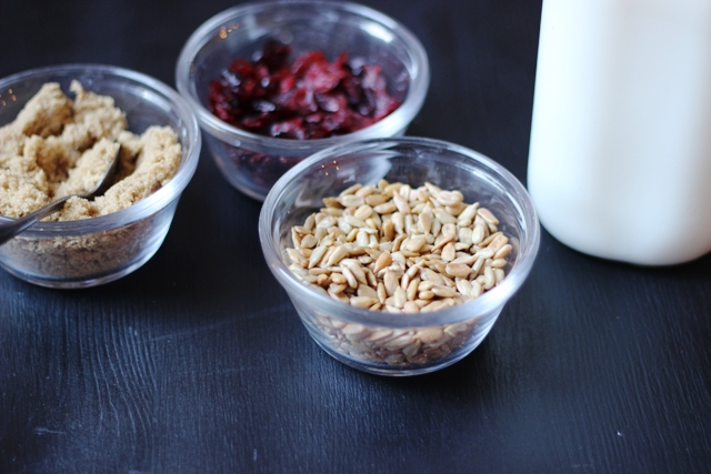 nut-free oatmeal toppings