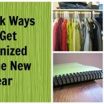 4 Quick Ways to Get Organized for the New Year - These aren
