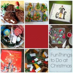 Fun Things to Do at Christmas Time - Plan to have fun with your family this year to make memories and savor the season.