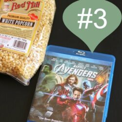 Christmas, Day 3: An Avengers Movie Night Kit