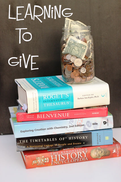 Giving is Good and Educational - Teaching our children to give and learning from their generous hearts in return is one of the best things we can do.