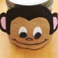 Monkey Munch Gift Jar - Make a sweet (and allergen-friendly) gift of trail mix with this Monkey Munch Gift Jar