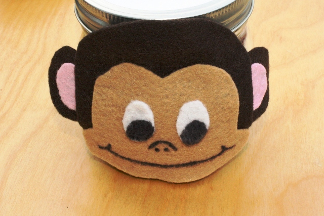 Make a Monkey Munch Gift Jar
