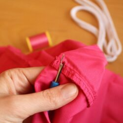 How to Make A Reusable Drawstring Bag