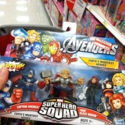 avengers toys to ornaments