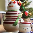 christmas mug and cookie jar