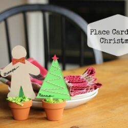 Cute Place Cards for Christmas