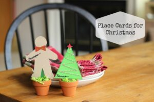cute placecards for christmas