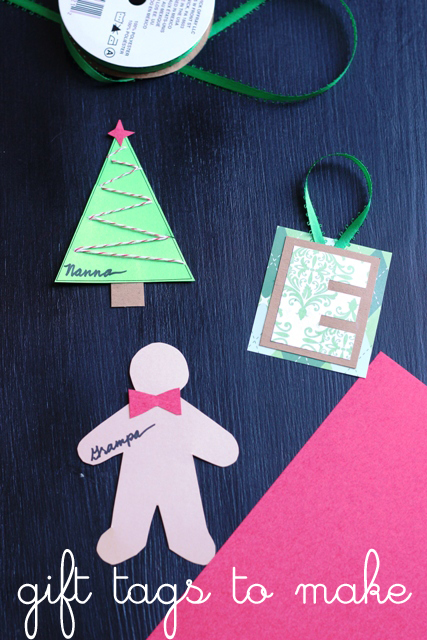 Easy Homemade Gift Tags