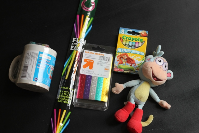 stocking crafts and toys