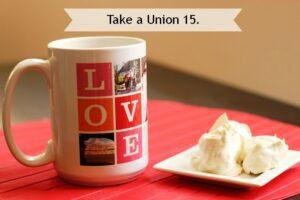 take a union 15