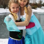 DIY Anna and Elsa Costumes from Frozen | LifeasMOM.com