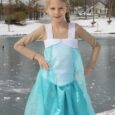 DIY Frozen Costume - Elsa