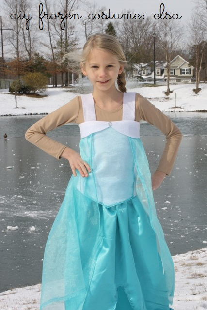 Frozen Elsa Dress Pattern Diy elsa costume from disney's