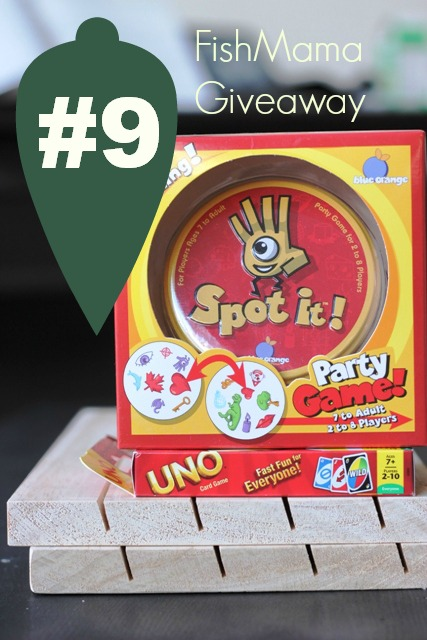Christmas, Day 9: A Family Game Night Kit