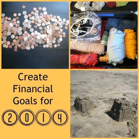 Make Financial Goals for 2014 | Budget for the New Year - consider where you want to be financially and think of how to get there.