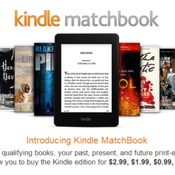 Save Money with Kindle Matchbook