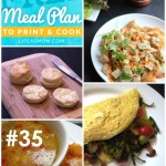 Weekly Meal Plan with Grocery List #35 | Life as MOM