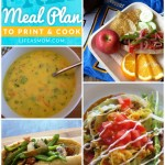 Weekly Meal Plan with Grocery List #37 | Life as MOM - Looking for some easy meals you can whip up this week? We
