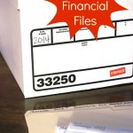 Set Up Financial Files for the New Year - Set yourself up for success with a financial filing system to work with all year long.