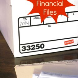financial files