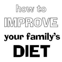 improve diet