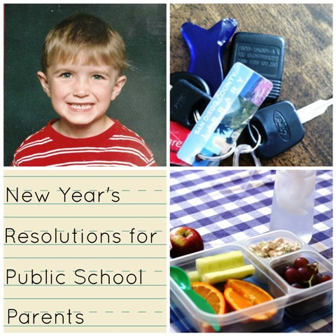 New Year's Resolutions for Public School Parents - Creative ways to improve your public school experience.